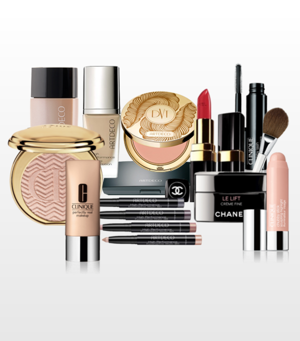 Make-up, Lippenstifte, Concealer und Bürsten Artdeco Clinique & Chanel Revitabrow SunMen Capture Total